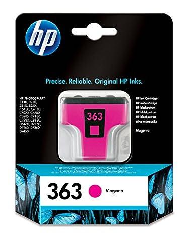 HP 363 Magenta Original Ink Cartridge (C8772EE)