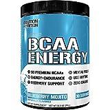Evlution Nutrition BCAA Energy - Supplément d'Acides Aminés Énergisant de Haute Performance pour le Renforcement Musculaire, la Récupération et l'endurance (30 portions) Blueberry Mojito