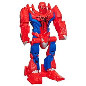 Spider-Man - 37321 - Figurine - Spider-Man Movie - Flip & Attack - Jet-Avion
