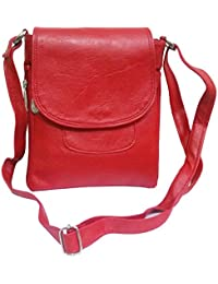 ALW Womens Stylish Shoulder Cross Sling Hand Bag (Red) (S10736)