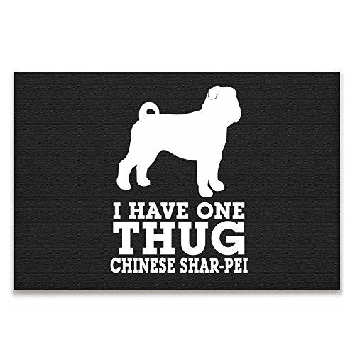 Eddany I have one thug Chinese Shar pei Cuadro en lienzo