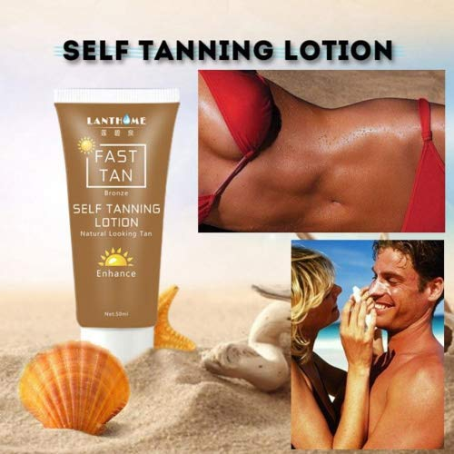 Igemy corpo bronzo sunscreen self hand sun tan migliorare lozione 50ml