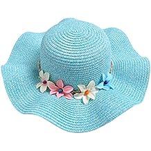 Hosaire Sombrero para el Sol Sombrero de Paja Verano Gorra Sombrero Algodón  Anti UV Solar para 37b463a994d
