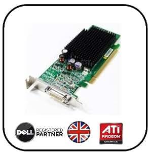 ATI RADEON X600 SE Low Profile demi-hauteur)-Carte graphique avec Câble DMS 59 Production pour Dell/GX620/PC