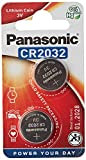 Panasonic CR2032 Battery (2 pack) - Panasonic, Lithium Coin Cell, 3V