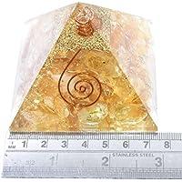 Orgonite Pyramid Citrine 2.5-3 inch Gemstone Chakra Balancing Reiki Healing + 1 Carnelian pointer pendant preisvergleich bei billige-tabletten.eu