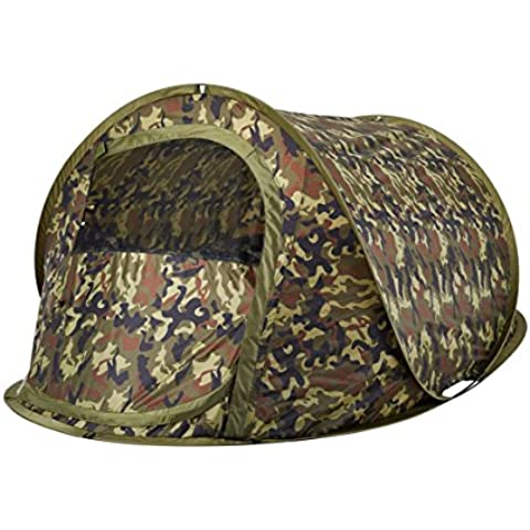 Oztrail - Tienda de campaña de camuflaje, de montaje instantaneo Blitz 2 Tactix (2 personas) 120x210x90cm, 1.8kg pop up ideal para caza,
