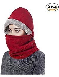 7bb8c2413d5 Amazon.co.uk  Red - Balaclavas   Hats   Caps  Clothing