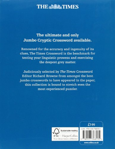 The Times Jumbo Cryptic Crossword Book 10