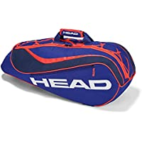 Head Kids 'Junior Combi Bolsa de Rebel – Raqueta de Tenis, Color Azul/Naranja, Talla única