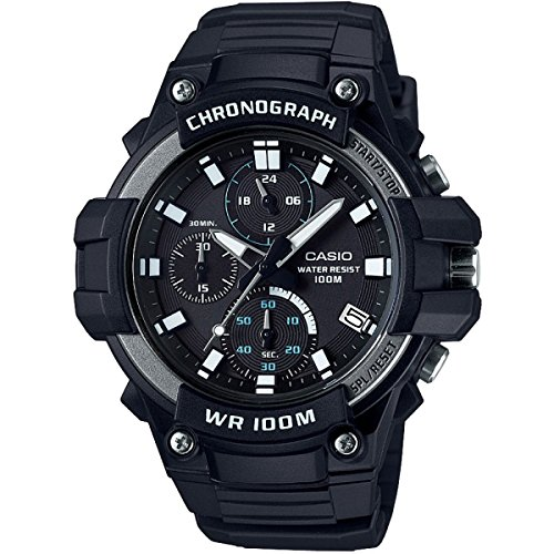 CASIO Collection Mens Watch MCW-110H-1AVEF Best Price and Cheapest
