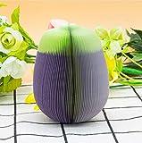Cczxfcc 1Set Cute Aufkleber Haftnotizen Post Es Kreative Diy Gemüse Memo Pads Wand Aufkleber Papier Home Decor Kühlschrank Aufkleber