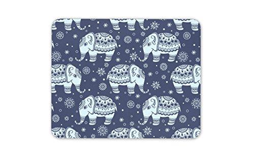 Alfombrilla de ratón con diseño de elefante – elefantes India Lindo regalo...
