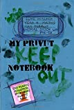 Luke Walker: animal stick up for-er: my privut notebook