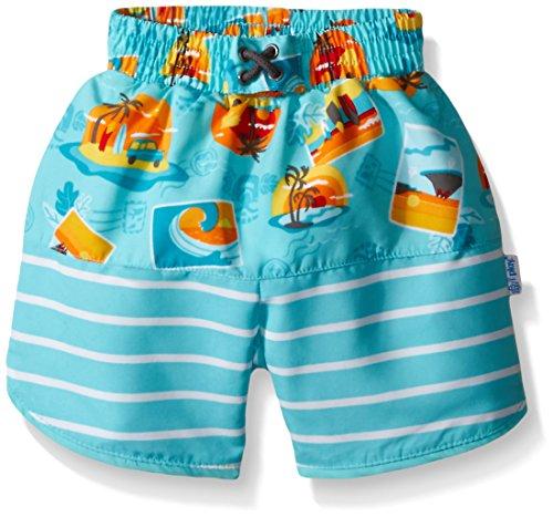 i play. 722154-637-47 Mix und Match Ultimative Schwimmwindel Board Shorts 2-3 Jahre, Surf Sunset, aqua