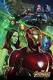 Close Up Avengers Infinity War Poster Iron Man (61cm x 91,5cm)