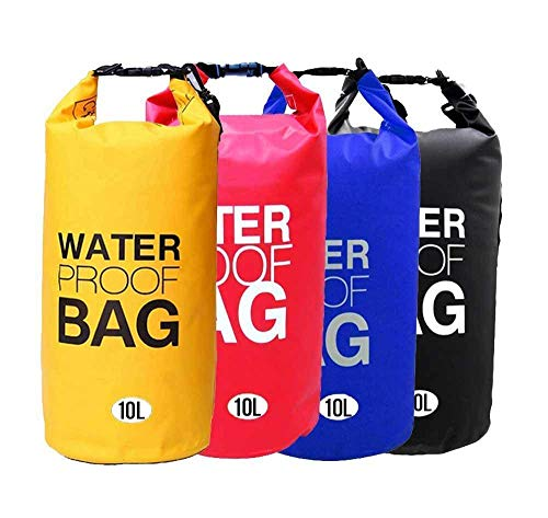 Supreme Mall (Label) Waterproof Fabric PVC 10 Litter Dry Bag for Out of doors, Sports activities, Swimming and Camping (Multi) Image 8