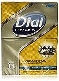 Dial For Men Bar Soap, Odor Armor, 8 Count by Dial For Men Bild