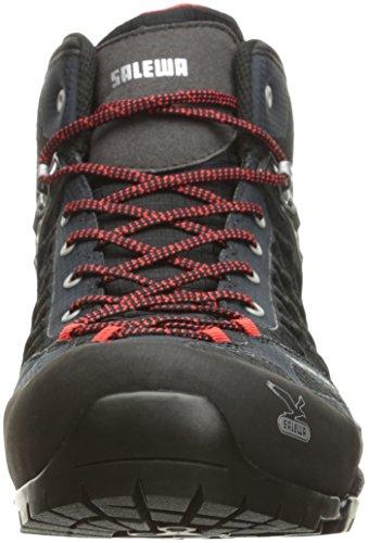 SALEWA - MS Firetail Evo Mid GTX Noir 15, Chaussures de Randonnée homme Noir (Black 0900)