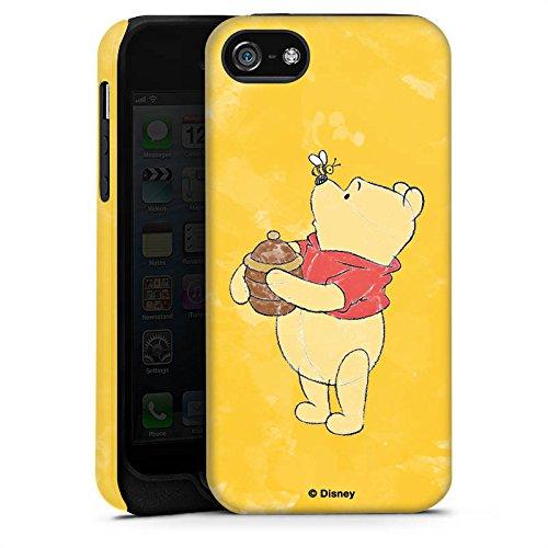 Apple iPhone X Silikon Hülle Case Schutzhülle Disney Winnie Puuh Fanartikel Geschenke Tough Case matt