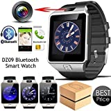 PACK-OF-2-Bluetooth-Smart-Watch-Dz09-COMPATIBLE-WITH-ALL-THESMARTPHONES-AND-Bluetooth-Mobile-DevicesPhone-With-Camera-And-Sim-Card-Sd-Card-Support-Fitness-Band-Fit-Features-Compatible-With-Andriod-dev