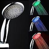 Aoligei Zeitgenössische galvanisieren Farbwechsel LED Handbrause