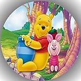 Premium Esspapier Tortenaufleger Tortenbild Geburtstag Winnie Pooh N2