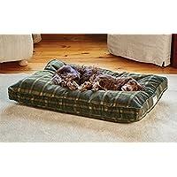 Orvis Comfortfill Original Platform Dog Bed / Medium Dogs 40-60 Lbs., Orvis Tartan