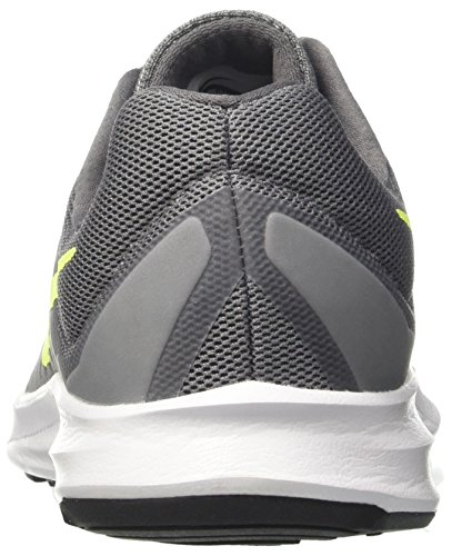 Nike Men Downshifter 7 Scarpe Da Corsa Grigie (cool Grey / Vert Volt-dark Grey-white)