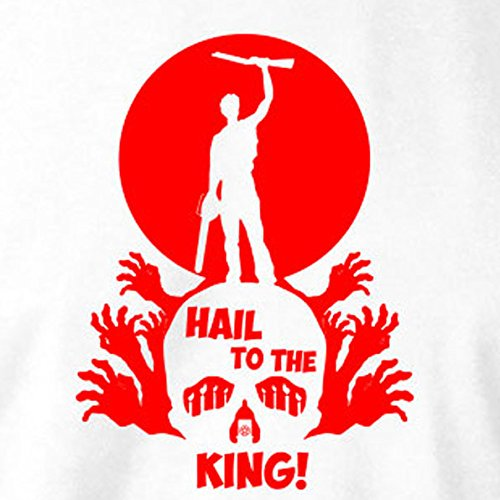 TEXLAB - Hail to the King - Langarm T-Shirt Marine