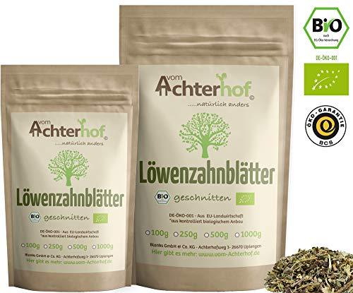 Löwenzahntee BIO (250g) Löwenzahnblätter-Tee getrocknet vom-Achterhof (Bio-tee-blatt)