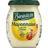 Bénédicta - Mayonnaise nature - Le pot de 255g - Prix Unitaire - Livraison Gratuit Sous 3 Jours