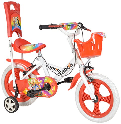taboo red & white bicycle for kids Taboo Red & White Bicycle For Kids 51gCOEwSYIL