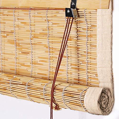 DS- Vorhänge Rollo Bambus Vorhang - hochwertige Reed Heben Dekoration Rollo Retro wasserdicht und...