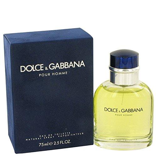 DOLCE & GABBANA by Dolce & Gabbana Eau De Toilette Spray 2.5 oz / 75 ml (Men)
