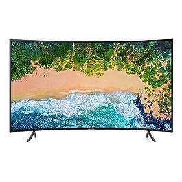 Samsung UHD Smart TV Serie NU7370 2018 (Serie NU7300), Tecnologia LED, Nero