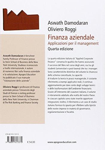 Finanza aziendale. Applicazioni per il management