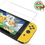 PORTHOLIC Protection écran pour Nintendo Switch [2 unités] [Anti-éclatement] Film Vitre Protecteur en Verre Trempé, 6.2pouces, Ultra Clair, Anti-bulles, Anti-empreintes et Résistant aux Rayures