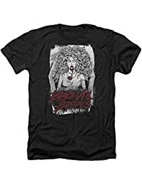 Black Veil Brides - Mens Coffin Queen Heather T-Shirt