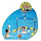 porteria + basket piscina