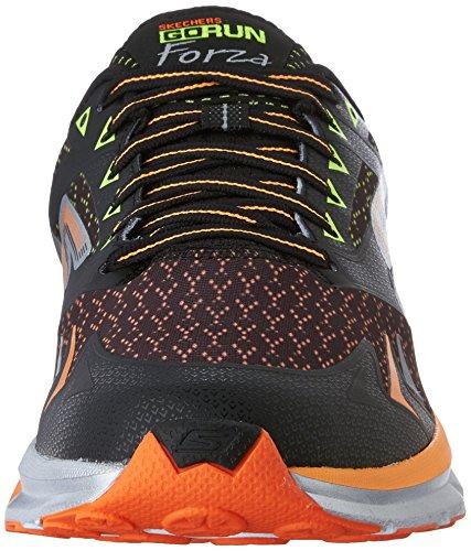 Skechers GO Run Forza, Chaussures de course homme Noir - Schwarz (BKOR)