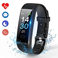 TOPLUS Health Exercise Watch, Fitness Trackers, Updated 2.3 Waterproof Activity Trackers Pedometer Smartwatch with Heart Rate and Sleep Monitor for Men & Women, Android & iOS
