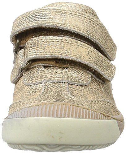 Bisgaard Unisex-Kinder Klettschuhe Low-Top Gold (6010 Gold)