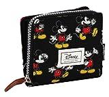 Best Topolino Mickey Portafogli - Disney Classic Mickey Moving Portamonete, 11 cm, Nero Review