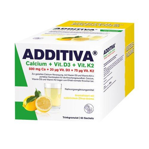 ADDITIVA Calcium+D3+K2 Granulat 60 St Granulat