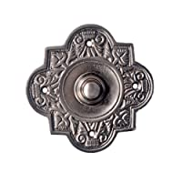 Adonai Hardware Parshandatha Decorative Brass Bell Push or Door Bell or Push Button