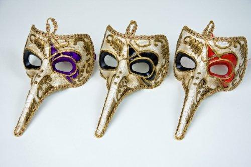 Festartikel Müller Karneval Kostüm Zubehör venezianische Maske Pantalone -