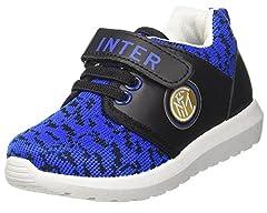 Idea Regalo - Inter Calcio Scarpe da Ginnastica Bambino Training Interisti PS 26818-32