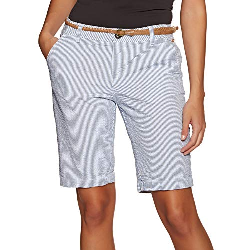Superdry Chino City Womens Shorts XX Small Seersucker Blue - Herren-seersucker-shorts