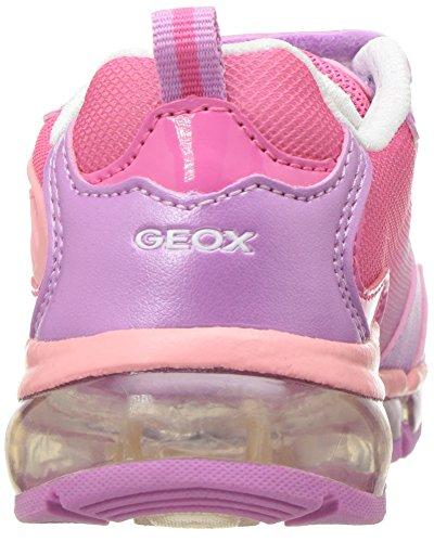 GeoxJ Android Girl A - Scarpe da Ginnastica Basse Bambina Rosa (Dk Pink/Lt Coralc8F7Q)